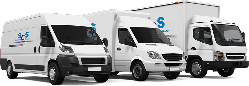 Our UK same day courier delivery fleet